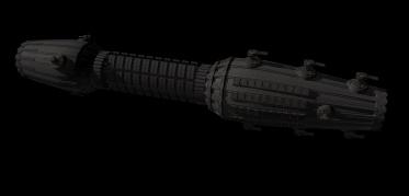 spaceship shape